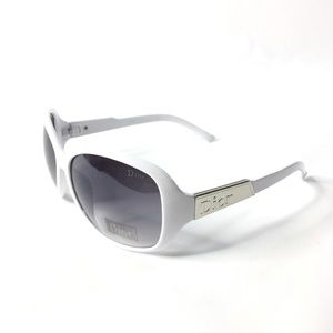 Christian Dior 31052 Sunglasses Nu Lens White